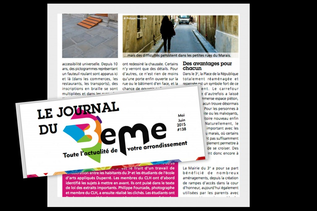 article presse expo handicap mairie du 3